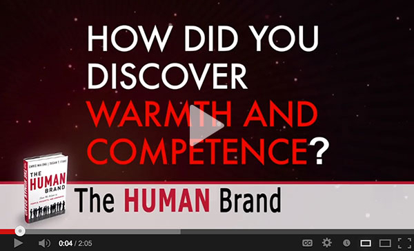 How Did You Discover Warmth & Competence?